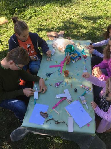 Kreativität in der Feen-Garten-Herstellung