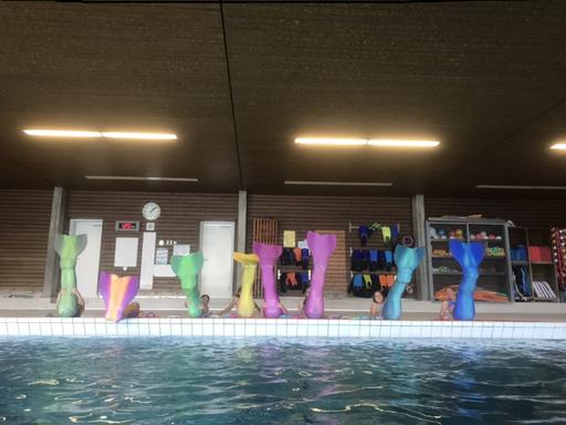 Nixen-Schwimmkurs