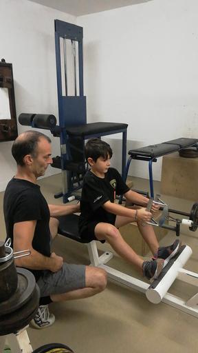 Gewichteheber-Kurs