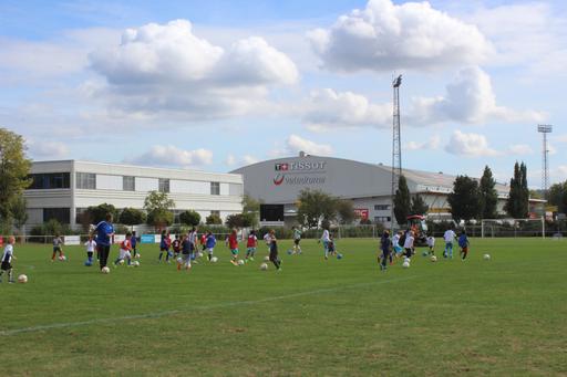 Fussballtraining beim FC Grenchen