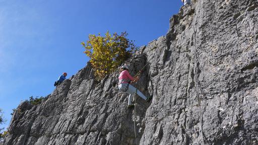 Felsklettern in der Region La Rochette mit dem SAC Grenchen